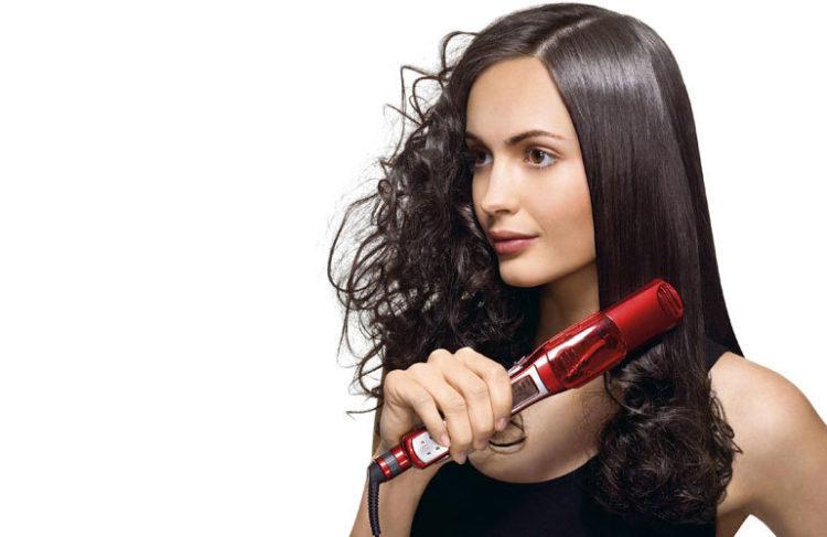 Уход за волосами после утюжка